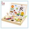 Rompecabezas magnético, tablero de dibujo, juguetes educativos de los niños