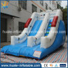 Diapositiva doble inflable gigante del resbalón del carril 2016, diapositiva inflable para la venta