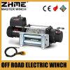 12 cable de transmisión de voltio 9500lbs que tira del torno con la cuerda de alambre