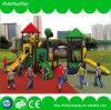 O parque de diversões caçoa o equipamento ao ar livre plástico do campo de jogos com corrediças