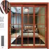 La Chine a préfabriqué le modèle en bois Windows en aluminium de couleur et les portes dans Myanmar