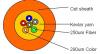 12 Kern-loses Gefäß-optisches Kabel-Innenfaser-Kabel