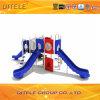 89mm Kindergarten-Spielplatz-Gerät mit galvanisiertem Pfosten und LLDPE Plastik