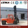中国のLtmaタクシーが付いている10トンのディーゼルフォークリフト