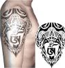 Tatuaje temporal impermeable del tibetano de la etiqueta engomada del tatuaje de la impresión