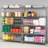 5 шкаф Shelving стального провода хранения кухни ярусов 800lbs Restraurant, утверждение NSF