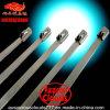 4.6X130mm de Banden van de Kabel van het Roestvrij staal