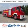 de Vrachtwagen Euro4 van de BosBrand 16ton HOWO