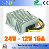 C.C. abaixadora 24V do conversor da C.C. ao regulador de tensão atual elevado do fanfarrão da fonte de alimentação do motor do carro de 12V 15A 180W