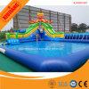 Парк воды напольной игры детей мягкой раздувной плавая для занятности