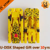 Ручка USB изготовленный на заказ леопарда подарка Deformable внезапная (YT-3707)