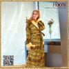 Peignoir mou superbe de femmes du léopard D-009