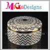 新型は陶磁器の宝石箱でなされるボックスを示す