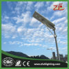 40W Cer, RoHS Bescheinigung kundenspezifisches LED Solarstraßenlaterne