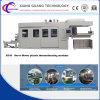 PlastikThermoforming Maschine für Nahrungsmitteltellersegmente/Ei-Tellersegmente innerhalb des Ausschnitts und der stapeln Einheit