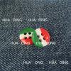 кнопка пластмассы цвета способа 4-Hole сопрягая для одежды (HD2016-16)