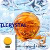 Esferas de cristal alaranjadas de Feng Shui