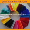 Hoja de acrílico coloreada molde translúcido