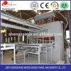 Machine de stratification de puissance forte et d'excellente nouvelle mélamine courte économiseuse d'énergie de cycle de modèle de qualité