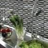 Mosaico eflorescente de Backsplash del baño de la cocina de los azulejos de las cubiertas de la decoración de la pared del mosaico