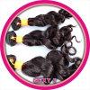 14 polegadas de projeto de tecelagem do Ponytail barato indiano do cabelo humano de Yaki