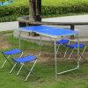 Таблица голубой таблицы стола способа сь обедая