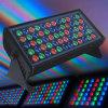 Luz del punto del LED/iluminación al aire libre 48PCS*3W RGB LED de la colada de la pared