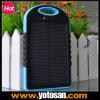 La Banca esterna mobile portatile di potere del caricabatteria del USB con la lastra di vetro solare