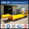 Cimc Huajun 3.5m Width 2line 4axle Lowbed Semi Trailer