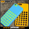 Полька DOT Hole Color Case Silicone Cover для iPhone 5c