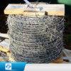 2.5 mm主要なワイヤー二重繊維塀のための熱い浸された電流を通された有刺鉄線4ポイントの