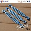 電流を通された商業タイプ鋳鉄ワイヤーロープのターンバックル