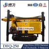 Hard Rocksのための250m Pneumatic DTH Hammer Water Drilling Machinery