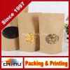 Kraft naturale Foil Stand su Zip Pouch (220103)