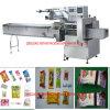 Lollies de gelo horizontais automáticos do Popsicle/do fluxo, máquina de empacotamento de creme da embalagem