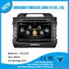 Coche DVD para KIA Sportage 2014 con Construir-en el chipset RDS BT 3G/WiFi DSP Radio 20 Dics Momery (TID-C325) del GPS A8
