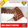 Duradera cubierta de acero inoxidable escalera de balaustres con Vidrio