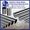 Approvisionnement stable superbe d'usine de transmission de Slient de barre ronde d'arbre flexible de l'acier inoxydable SUS321 de cavité de pipe de haute précision de surface pleine de miroir personnalisé