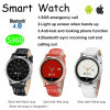 Relógio esperto elegante de Bluetooth com a faixa de relógio de couro (S360)