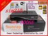 receptor basado en los satélites del SE del Sunray 800HD de la tarjeta del sintonizador SIM210 de los 300m WiFi Bcm4505