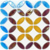 Glasmischungs-keramische Mosaik-Fliese-schöne Wand-Fliesen