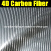 Air Free Bubblesの保証100%年のGlossy 4D Carbon Fiber Film