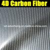 Garanzia Glossy 100% 4D Carbon Fiber Film con Air Free Bubbles