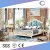 Кровать мебели спальни Европ классическая деревянная (CAS-BF1716)