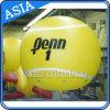 Globo voleibol publicidad política reutilizable incombustible inflable con total Impresión Digital
