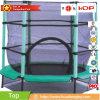 Le mini tremplin rond de Huadong pour des gosses, adultes d'intérieur ou extérieurs, badine le tremplin simple de saut à l'élastique à vendre