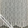 Tessuto di lavoro a maglia del merletto del filo di ordito ovale e prismatico di disegno