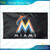 Изготовленный на заказ флаг, флаг печатание экрана, резвится флаги, флаги Марлинов Флорида (J-NF01F03124)