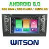 Auto DVD des Witson acht Kernandroid-6.0 für Audi A6/S6/RS6