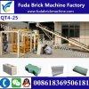 Machine complètement automatique de brique de machine/machine à paver de brique pleine du prix discount Qt4-25